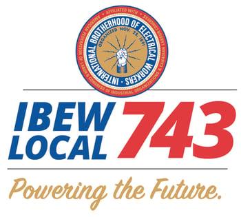 IBEW743 - Logo