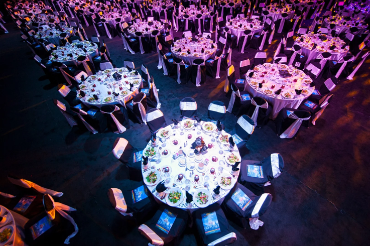 Image of event tables showcasing comprehensive Union event management
