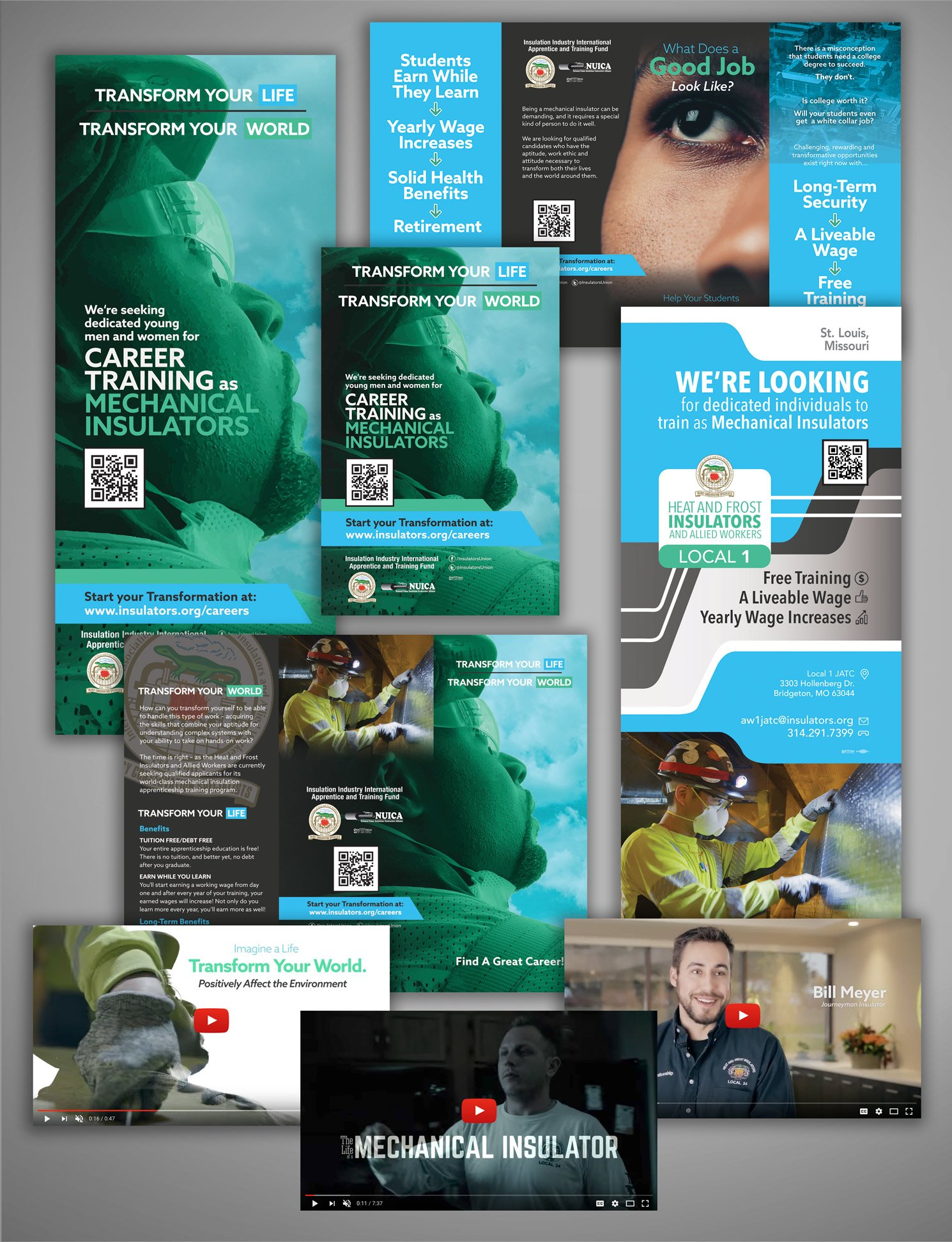 insulators international union recruitment campaign