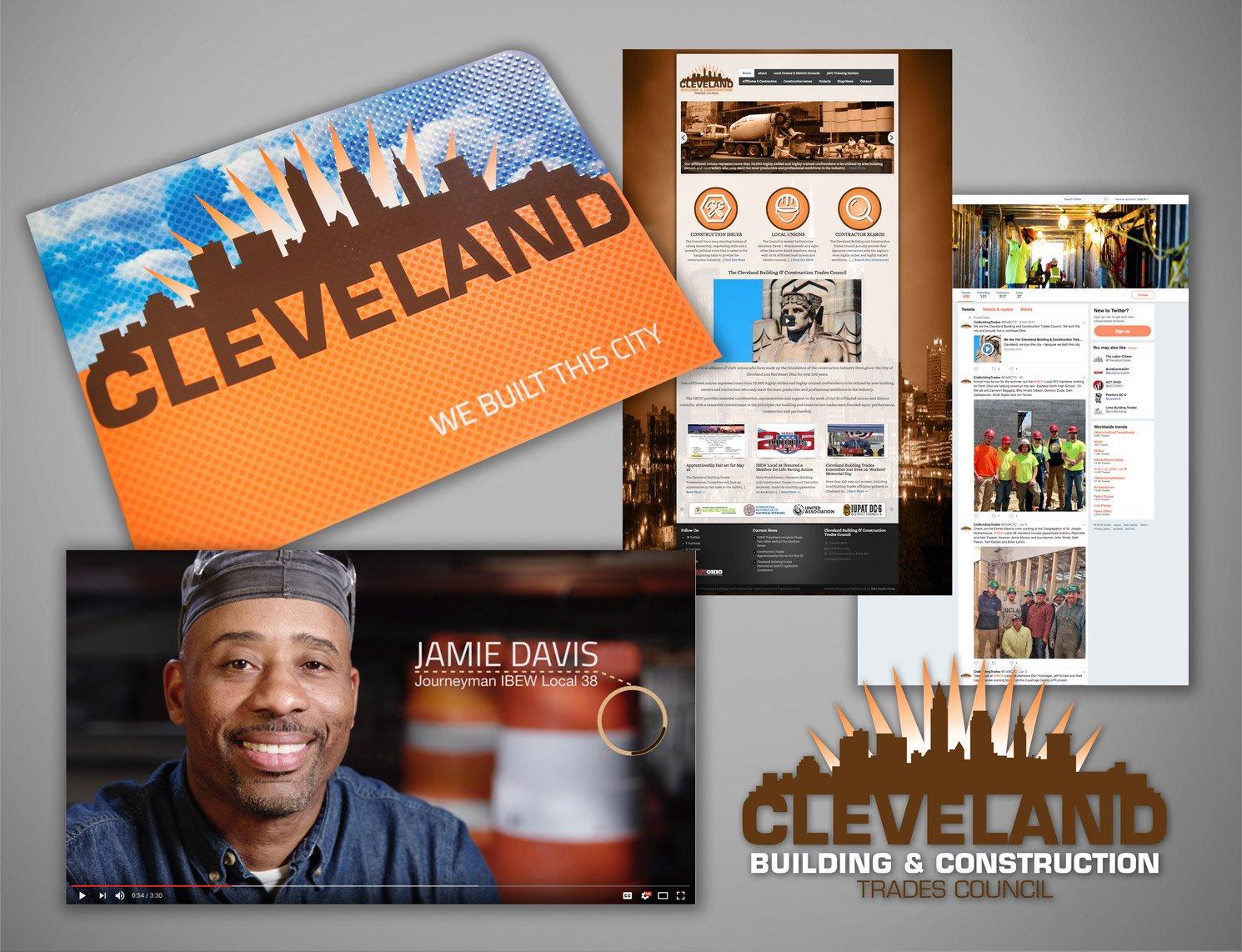 Cleveland Building Trades Union Marketing Campaign