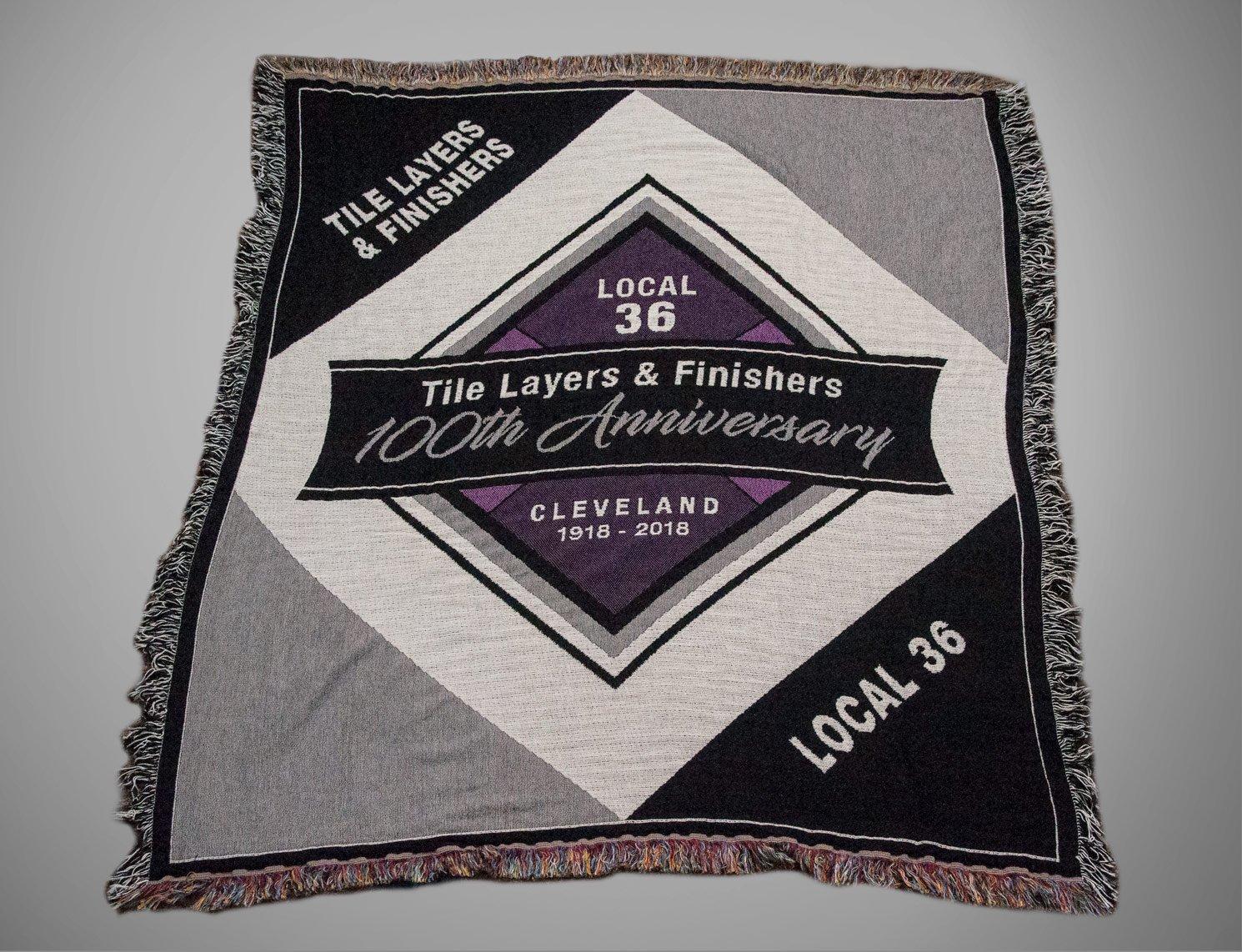 Custom Union Anniversary Blanket Merchandise