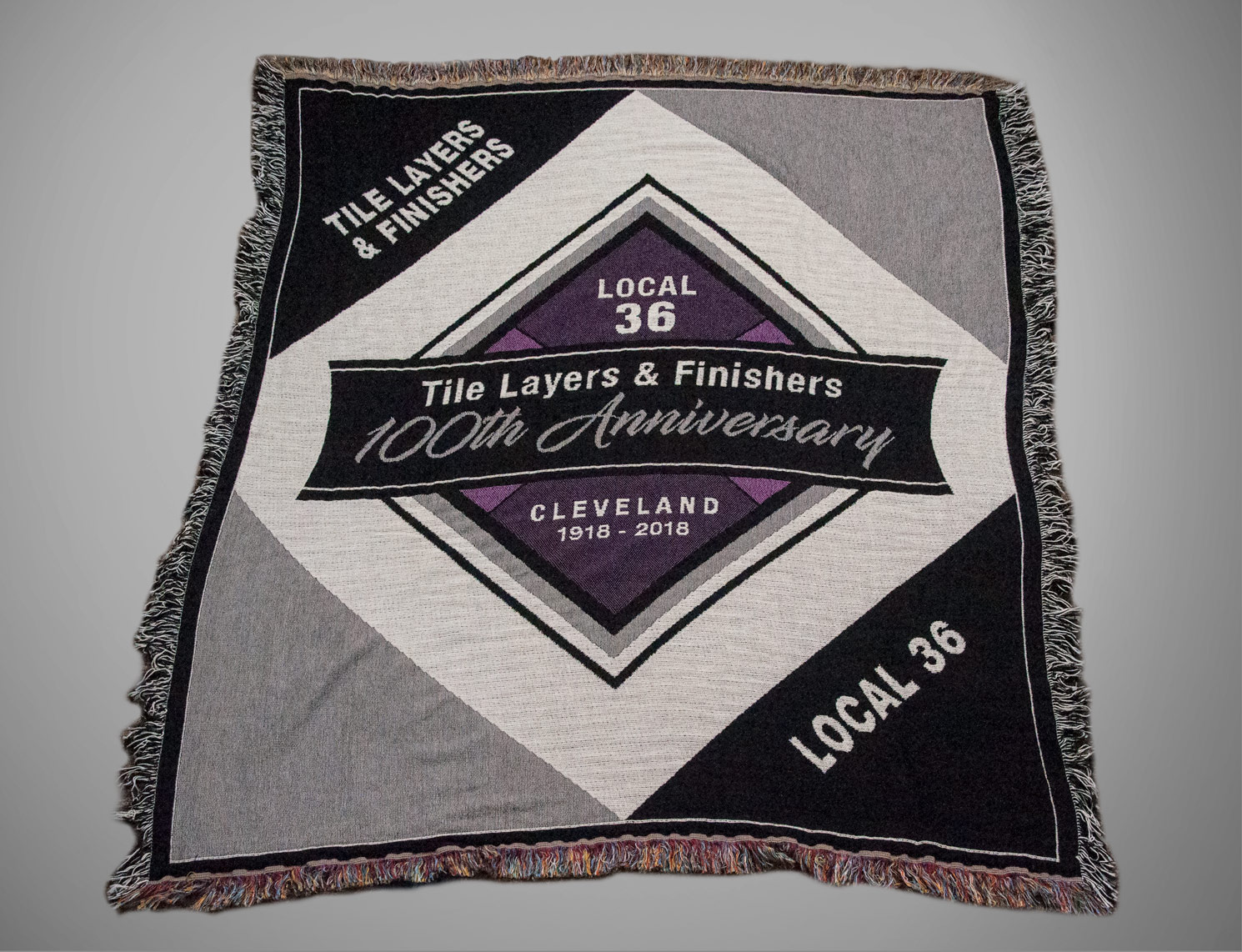 Custom Union Anniversary Blanket Merchandise