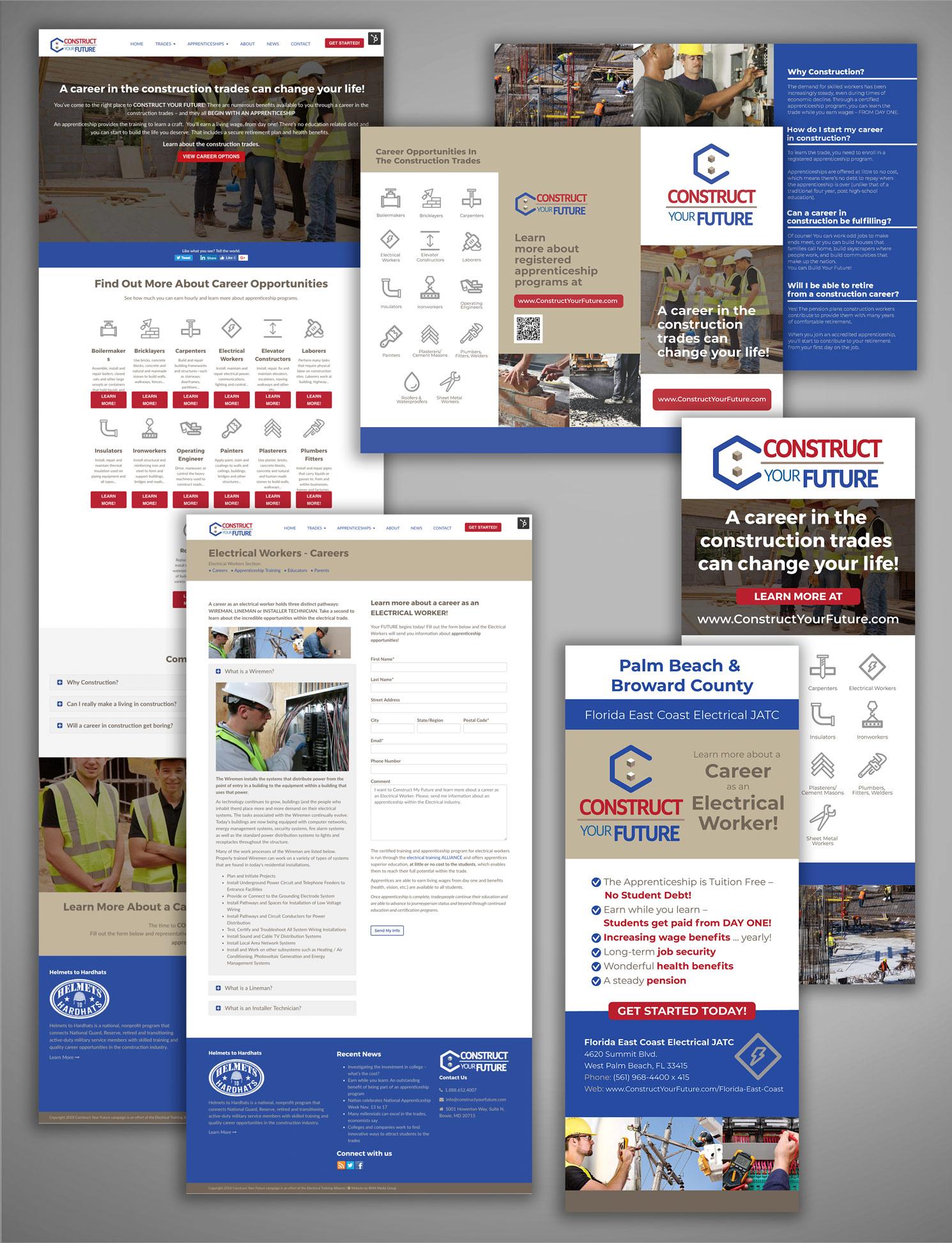 construct your future union apprentice recruitment campaign